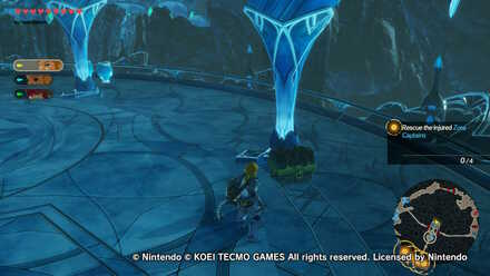 Chest Number 1  in Mipha the Zora Princess