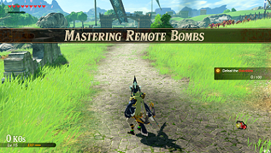 Mastering Remote Bombs