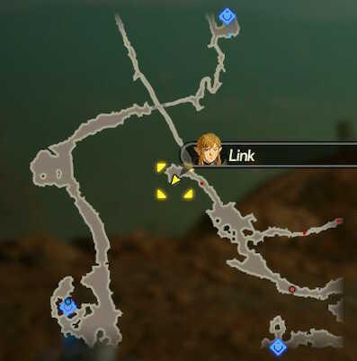 Daruk the Goron Hero Korok Seeds Map