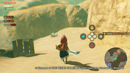 Chest Number 8  in Urbosa the Gerudo Chief