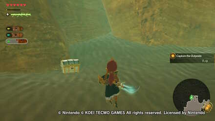 Chest Number 6  in Urbosa the Gerudo Chief