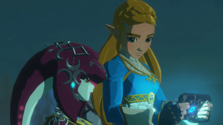 Hyrule Warriors: Age of Calamity - Mipha and Zelda