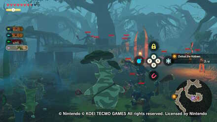 Freeing Korok Forest Treasure Chest Locations