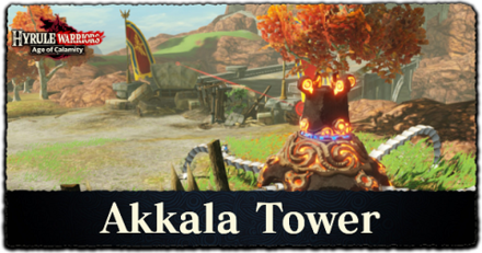 Akkala Tower Walkthrough All Treasure Chests And Korok Seeds Locations Hyrule Warriors Age Of Calamity Game8