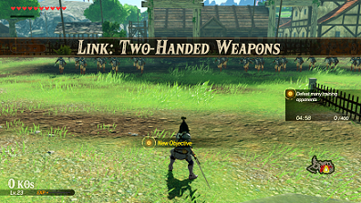 Link Two Handed Weapons Challenge Walkthrough Hyrule Warriors Age Of Calamity Game8
