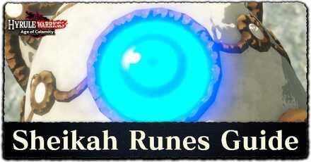 Sheikah Runes Guide: How to Use Runes