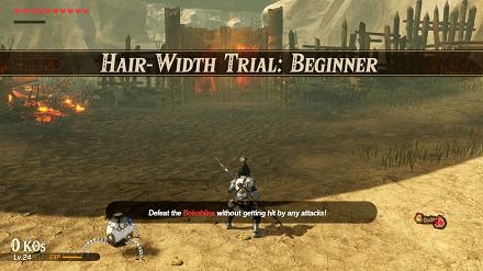 Hair-Width Trial: Beginner Banner