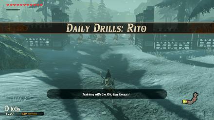 Daily Drills: Rito Banner