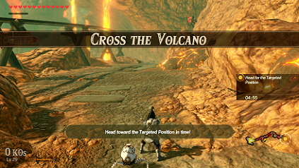 Cross the Volcano Banner