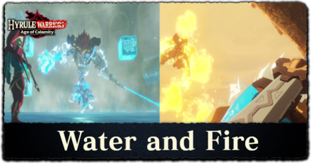 Water And Fire Walkthrough All Treasure Chests And Korok Seeds Locations Hyrule Warriors Age Of Calamity Game8