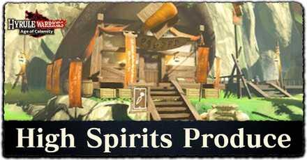 How to Unlock High Spirits Produce