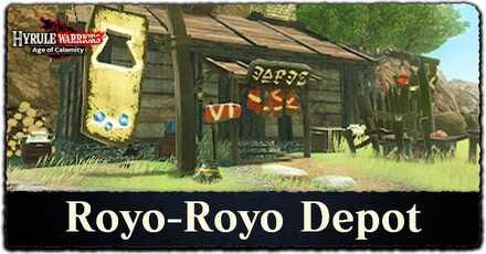 How to Unlock Royo-Royo Depot