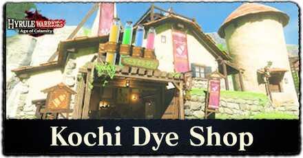 Kochi Dye Shop