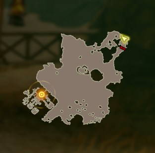 Through the Desert Map