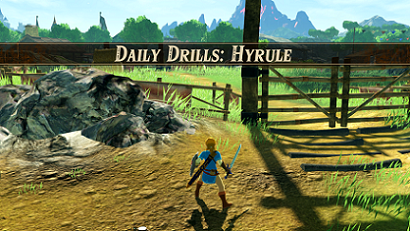 Daily Drills: Hyrule Banner