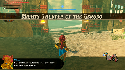 Mighty Thunder of the Gerudo Banner