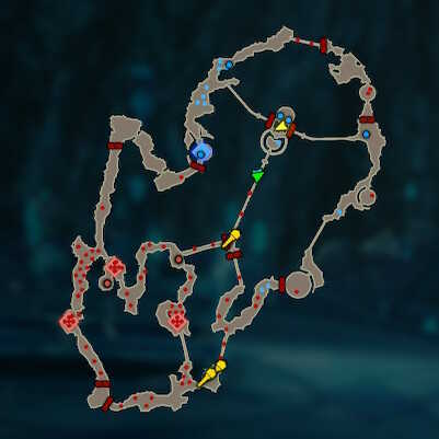 Mipha the Zora Princess Map