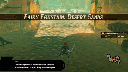 Fairy Fountain: Desert Sands Banner