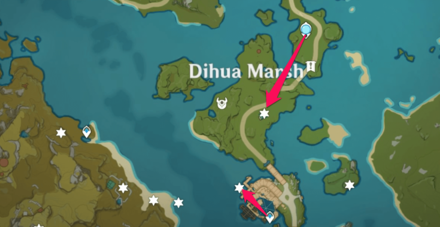 Dihua Marsh Route.png