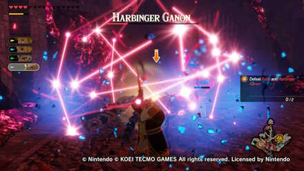 Boss Battle Guide How To Beat Harbinger Ganon Hyrule Warriors Age Of Calamity Game8