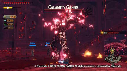 Boss Battle Guide How To Beat Calamity Ganon Final Boss Hyrule Warriors Age Of Calamity Game8