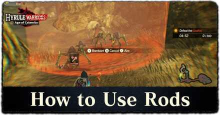 How to Use Rods