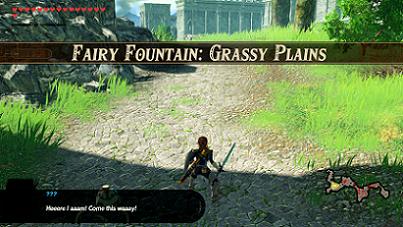 Fairy Fountain: Grassy Plains Banner