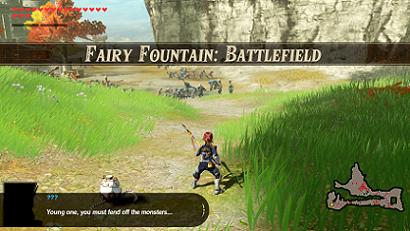 Fairy Fountain: Battlefield Banner