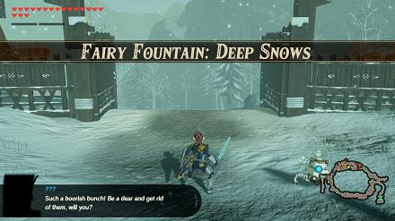 Fairy Fountain: Deep Snows Banner