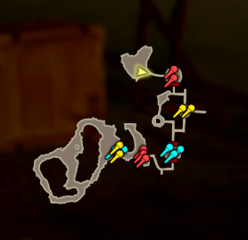 A Feast for Wizzrobes Map