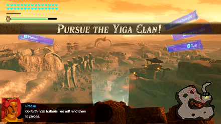 Pursue the Yiga Clan! Banner