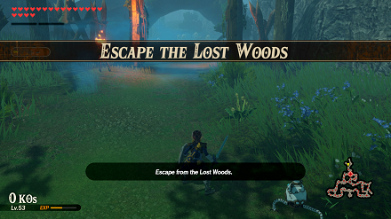 Escape the Lost Woods Banner