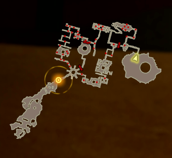 In the Clutches of the Yiga! Map