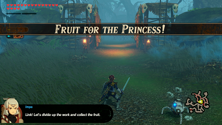 Fruit for the Princess! Banner