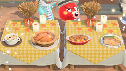 Animal Crossing New Horizons (ACNH) Turkey Day Dishes and Secret Ingredient Guide