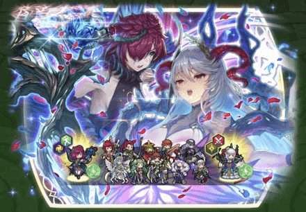 Freyja: Lady of Nightmare and Triandra: Nightmare Banner