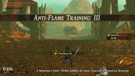 Anti-Flame Training: III Banner