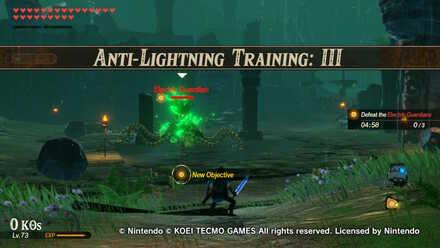 Anti-Lightning Training: III Banner