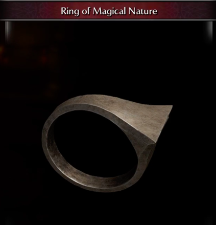 Ring of Magical Nature