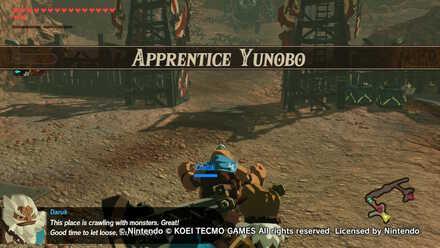 Apprentice Yunobo Banner