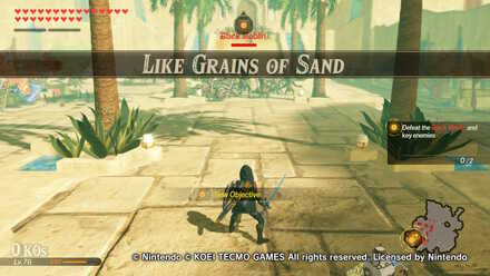 Like Grains of Sand Banner
