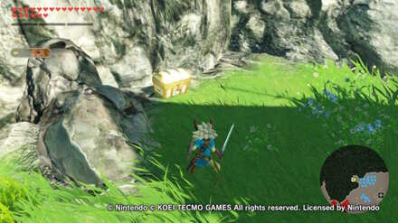 The Battle Of Hyrule Field Walkthrough All Treasure Chests And Korok Seeds Locations Hyrule Warriors Age Of Calamity Game8