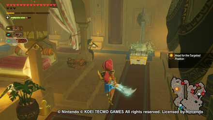 Chest Number 4  in Urbosa the Gerudo Chief