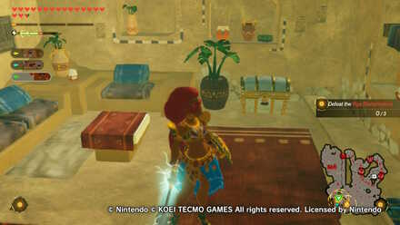 Chest Number 5  in Urbosa the Gerudo Chief