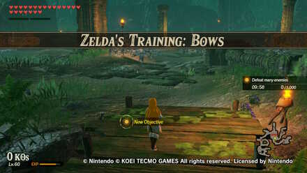 Zelda S Training Bows Challenge Walkthrough Hyrule Warriors Age Of Calamity Game8