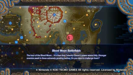 Blood Moon Battlefields Rewards And How To Unlock Hyrule Warriors Age Of Calamity Game8