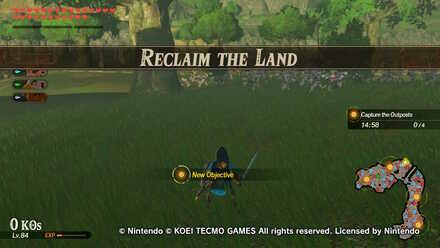 Reclaim the Land Banner