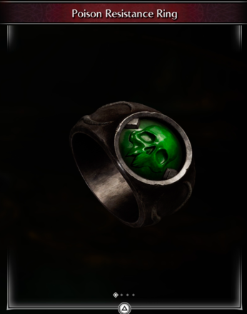 Poison Resistance Ring
