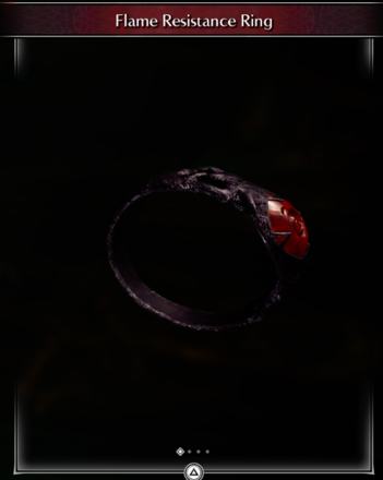 Flame Resistance Ring