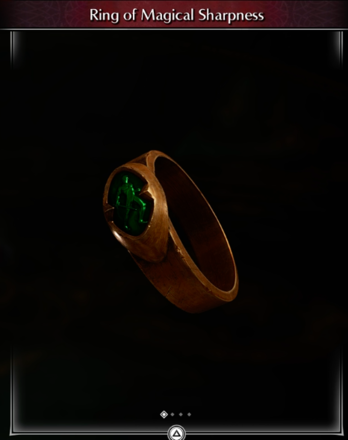 Ring of Magical Sharpness